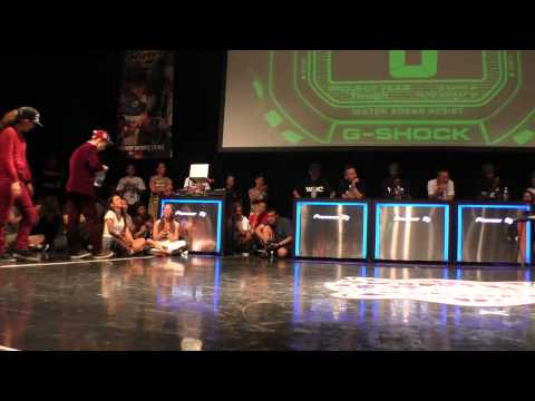 Funky-J & Vovan vs ROADDOGGZ(Cio  Masato) FINAL  LOCK 【WDC 2014】