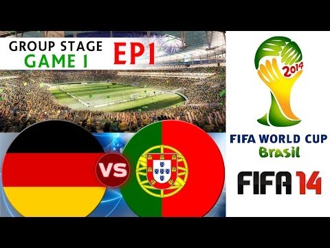 [TTB] 2014 FIFA World Cup Brazil - Germany Vs Portugal - Group Stage Game 1 - EP1