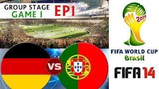 [TTB] 2014 FIFA World Cup Brazil Germany Vs Portugal