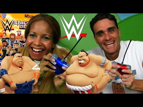 WWE Smack Down Blind Bags + Remote Control Sumo Wrestlers!   || Blind Bag Show Ep25 || Konas2002