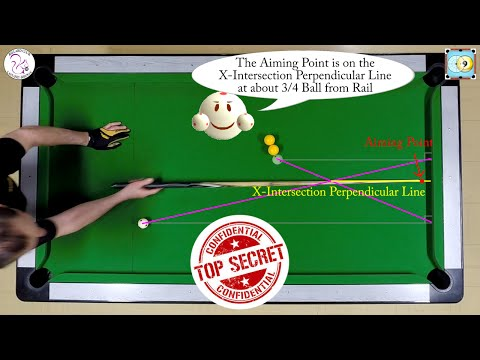 X-System Secret Revealed - Aiming Kick Shots - Exercise #23 - Pool Coaching & Billiard Training