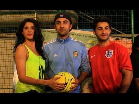 Ranbir Kapoor v/s Armaan Jain Football Match