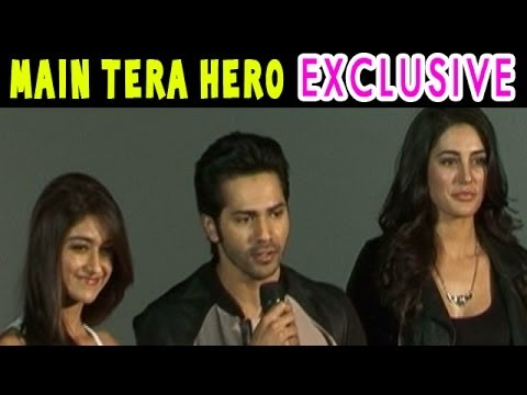 Main Tera Hero | Varun Dhawan, Nargis Fakhri, Ileana D'Cruz Exclusive Interview
