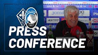30ª #SerieATIM | Fiorentina-Atalanta | La conferenza stampa di Gian Piero Gasperini