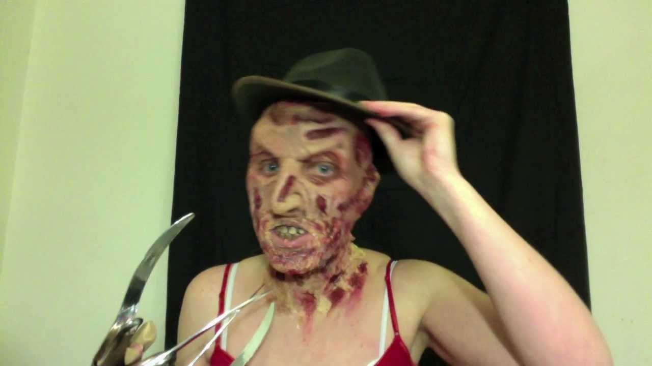 Freddy Krueger Fx Makeup Tutorial Youtube