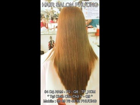 Tóc SoLe Chiếc Lá Nhọn - Cắt Chuẩn Và Dứt Điểm - HAIR SALON PHƯƠNG : 84 DẠ NAM - P2 - Q8 - TP_HCM