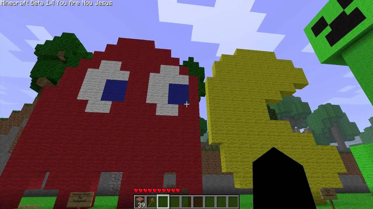 Minecraft Pixel Art :: 5 :: PacMan