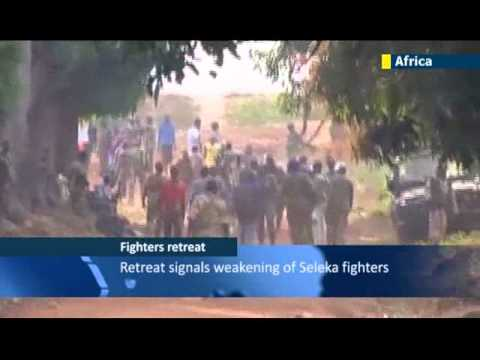 CAR Muslim rebels leave capital: Bangui residents celebrate departure of hated Seleka fighters