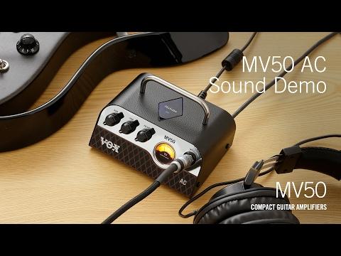 Vox MV50 AC NuTube Guitar Amplifier Head