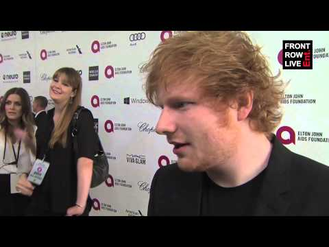 Ed Sheeran talks favorite Oscar movies