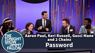 Aaron Paul, Keri Russell, Gucci Mane, and 2 Chains | Password