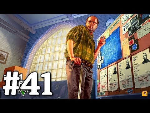 GTA 5 PS3: Playthrough Part 41[Paleto Score Setup Gold - Heist Planning]