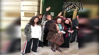 المصريون بإيطاليا يهتفون تحيا مصر برفقة السفير هشام بدر سفير مصر بروما