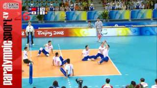 Sitting Volleyball Men JPN Vs. CHN Beijing 2008