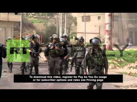 State of Palestine: Israeli security clashes with West Bank hunger strike protestors