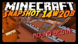 Minecraft: 14w20b - Custom Text Prompts, Mesa Biome Caves & More!