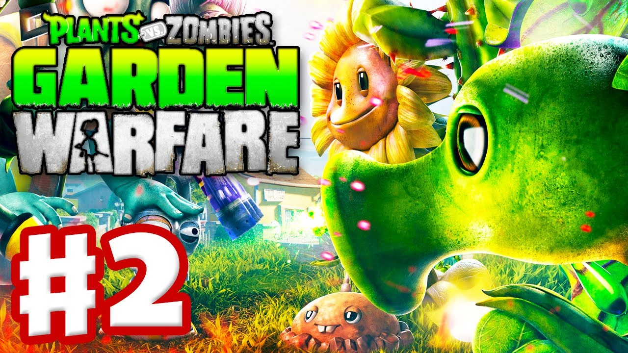 Plants Vs Zombies Garden Warfare Gameplay Walkthrough Part 2 Welcome Mat Xbox One Youtube