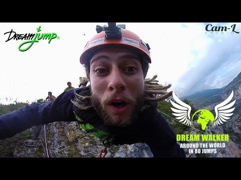 Dream Walker 2 - Panorama Dream Jump, Rope Jump, Extreme adventure in France - Du Verdon