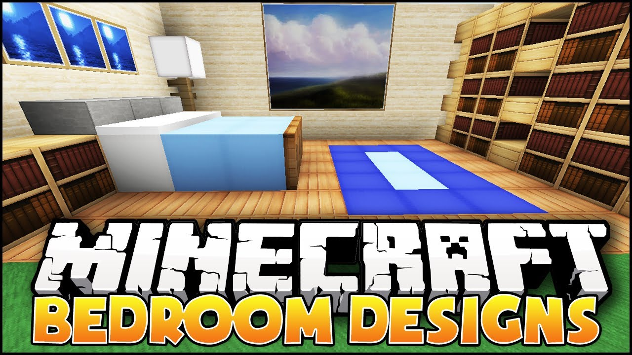 minecraft nice bedroom designs ideas youtube