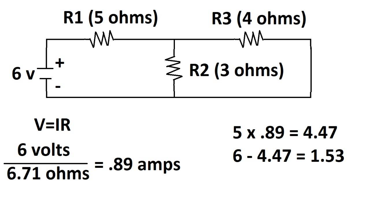 circuit with two voltage sources  how to find voltages of