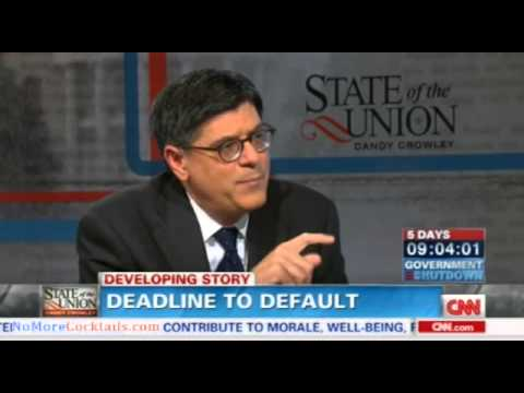 Jack Lew engages in fearmongering and scare tactics over debt ceiling