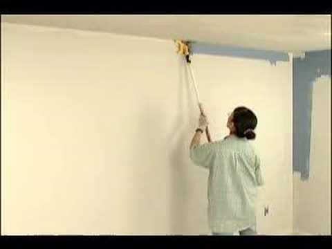 Accubrush paint Edger for House Painting, part 2