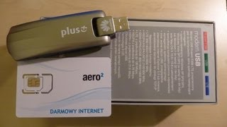 UNBOXING Huawei E398 And Aero2 Test. Darmowy Internet
