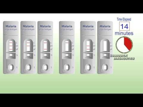 QuickProfile Malaria Test