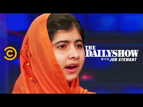 Thumbnail of video The Daily Show: Extended Interview: Malala Yousafzai