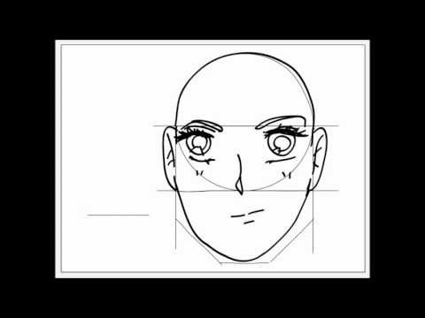Dibujando Manga video tutorial 7 (boca masculina y femenina)