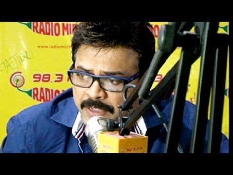 Venkatesh Chit Chat In Radio Mirchi 98.3 Red FM Studio