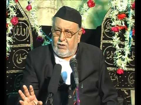 Maulana Mirza Mohammed Athar, Majlis 5, Mahe Moharram 2012/2013, Venue = Mogul Masjid (Mumbai)