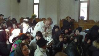 Tecuci - Rugaciunea Mare la Sfintirea bisericii