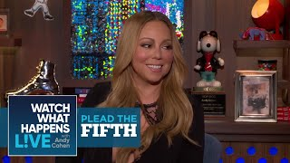 Mariah Carey On Nick Cannon, Nicki Minaj, And Beyonce   Plead the Fifth   WWHL