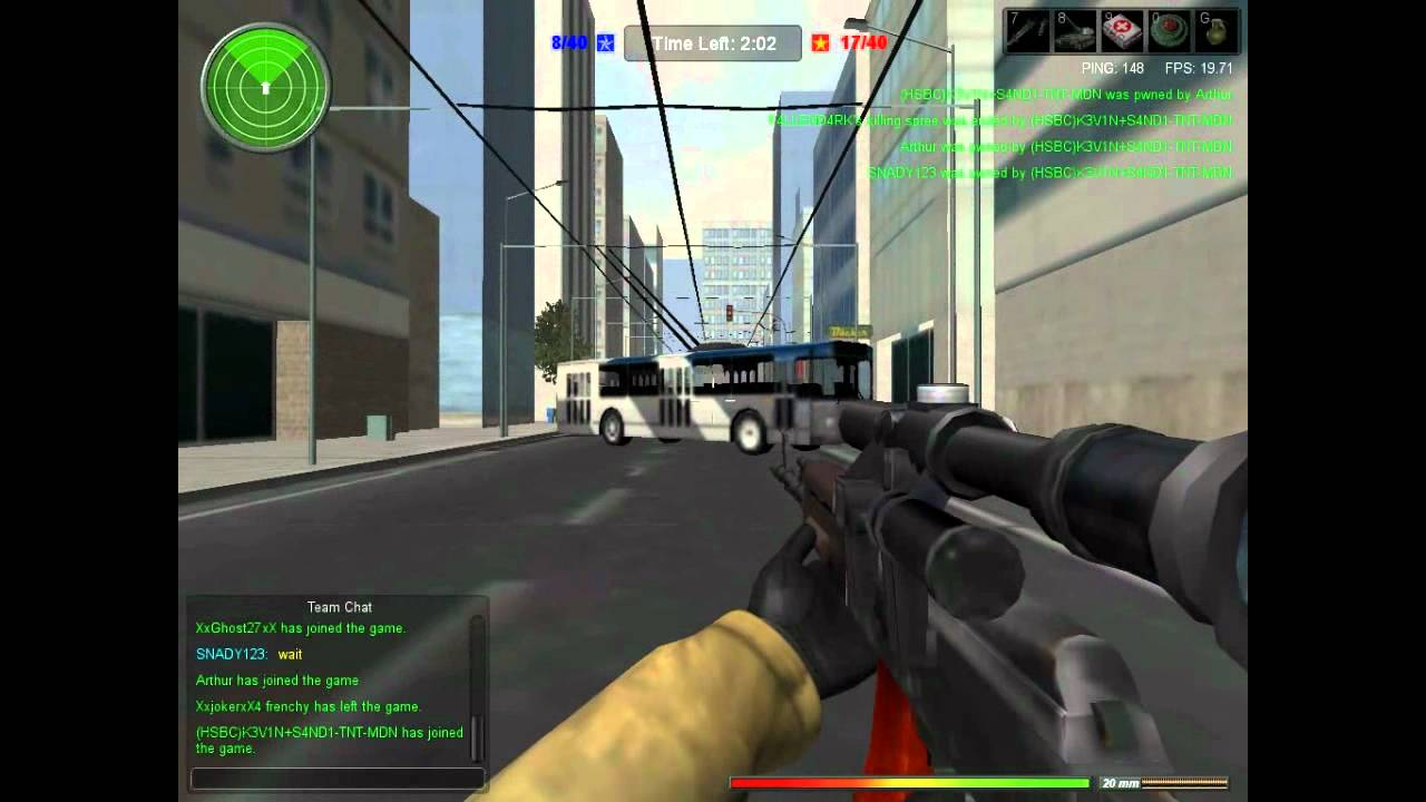 online browser shooters
