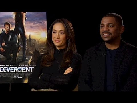 DIVERGENT Interview : Stars Maggie Q and Mekhi Phifer Chat About The Film w/ Tim Estiloz