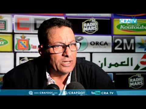 عبد الملك عزيز بعد مباراة الجولة 25 | CRA 1-1 FAR | الندوة الصحفية
