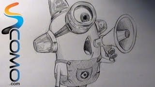 Dibujar Minion Ambulancia Drawing Minion Ambulance