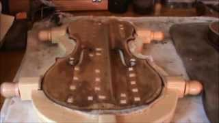 Repair of an old violin with a faked label - Joana Bruno - Jochen Bruenjes