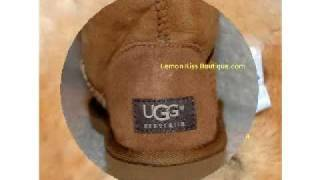How To Spot Fake Ugg Boots, REAL Pictures!