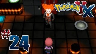 Let's Play Pokemon: X Part 24 Lysandre Labs