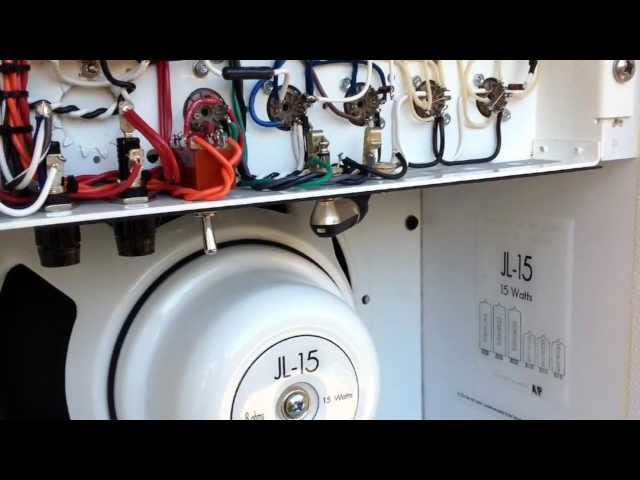 John Lennon JL15 Amplifier behind the scenes - Fargen Amplification