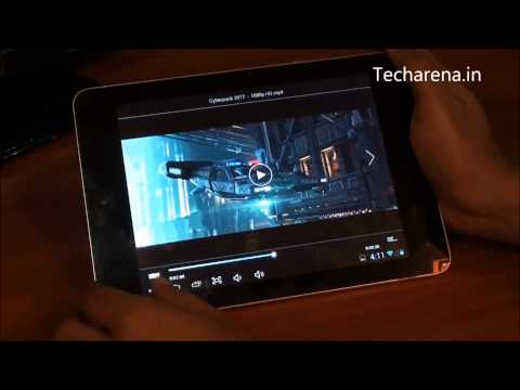 Zync Quad 8.0 Tablet PC Video Review