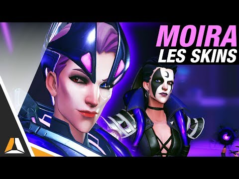 Skins, Golden Guns et emotes Moira disponibles ! ► Overwatch PTR