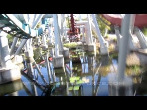 Dragon Challenge: Hungarian Horntail Front Seat on-ride HD POV Universal Islands of Adventure
