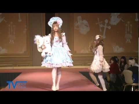 Baby, The Stars Shine Bright 「~ほんとうの乙女のために~ 」ダイジェスト, A fashion show of the brand Baby the stars shine bright www.babyssb.co.jp