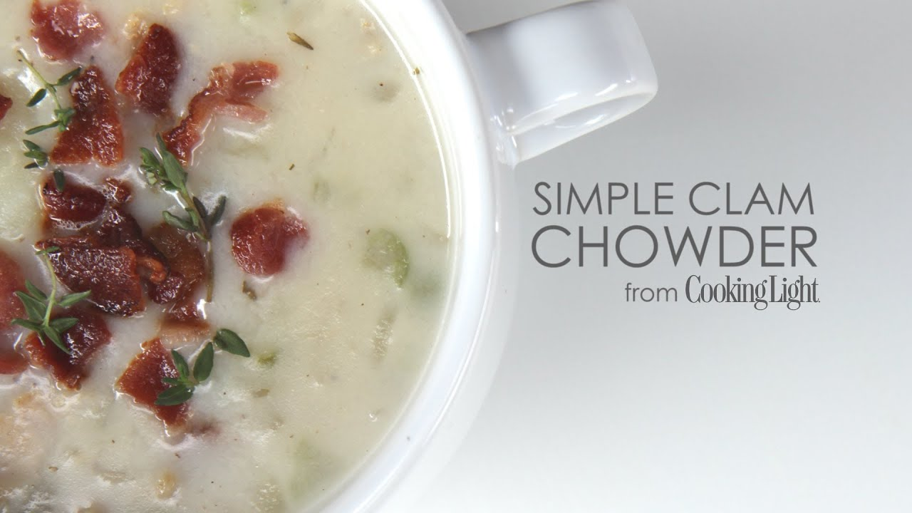 Simple Clam Chowder - YouTube