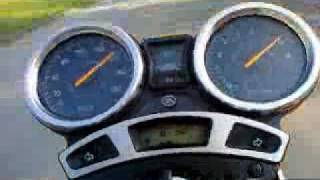 YAMAHA YBR 250 . 0-120 Km\h :)