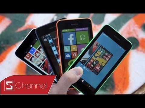 Mở hôp Lumia 530 bản thương mại