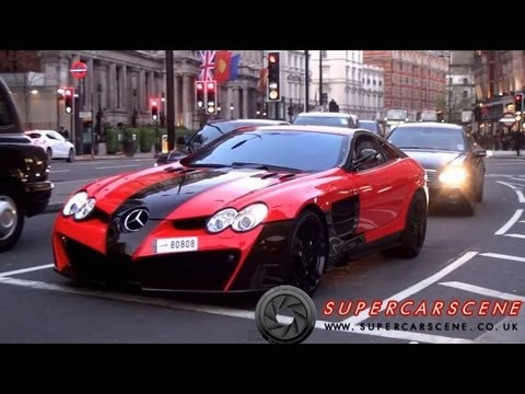 ARAB SUPERCAR INVASION IN LONDON